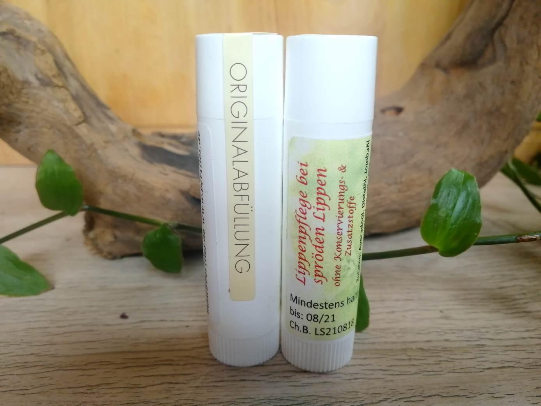 Lippenpflege bei spröden Lippen